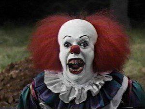Ya desde RHPS, Tim Curry le cogió el gusto al maquillaje.