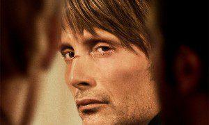 Mads Mikkelsen en el cartel promocional de la película