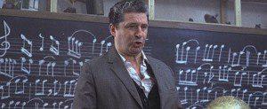 El profesor de escuela, mítico personaje de la película