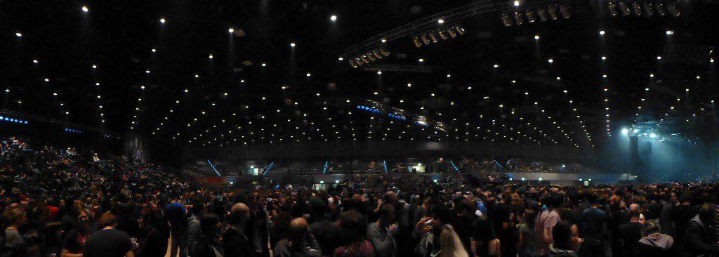 Panoramica del Mitsubishi Electric Halle