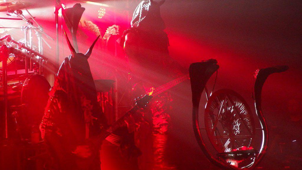 Behemoth en el ultimo tema en directo