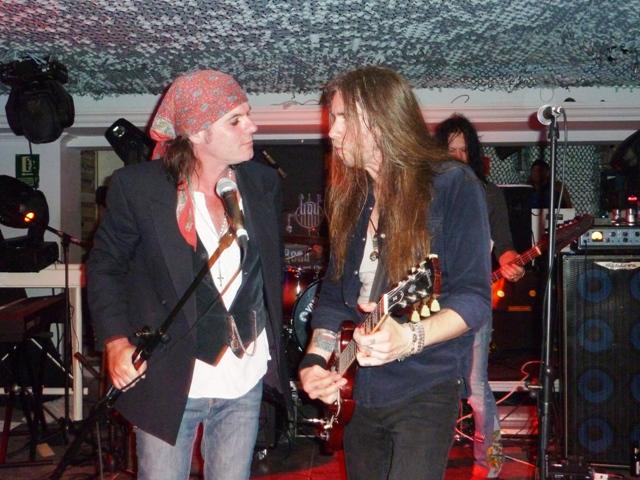 Spike y Pontus Snibb en Ibiza