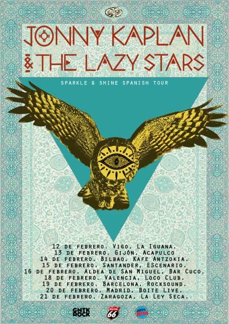 Jonny-Kaplan-The-Lazy-Stars-gira-española-2015