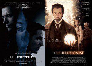 """Dos pelis de magos, curiosamente """"The prestige"""" también es de Nolan."""