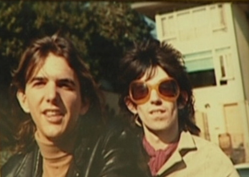 Gram Parsons y Keith Richards