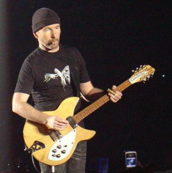 The Edge Rickenbacker