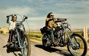 Film Easy Rider STARRING PETER FONDA AND DENNIS HOPPER