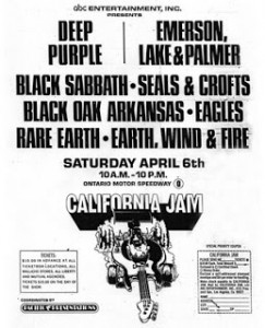 California Jam I (Cartel)