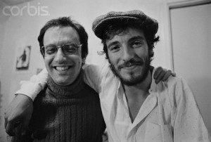 Jon Landau y Bruce Springsteen en 1.974