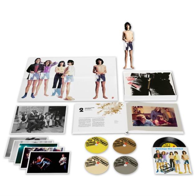 """edición hiper-super-extra-deluxe de la reedición del """"Sticky Fingers"""""""