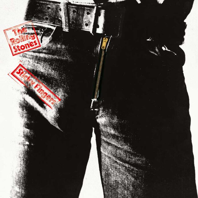 "portada original del ""Sticky Fingers"""