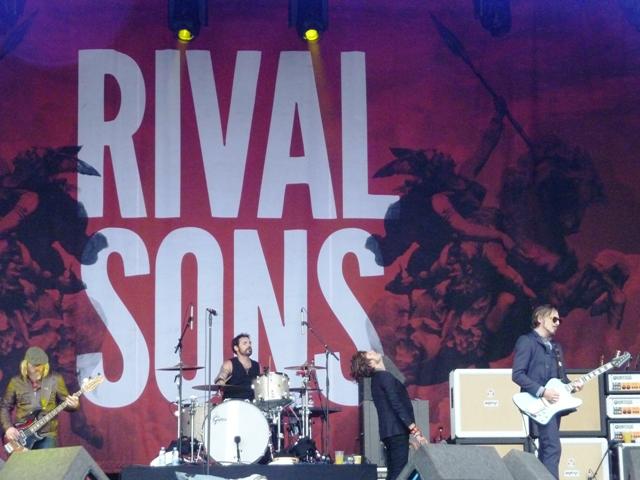 Rival Sons con un Jay Buchanan pletórico al frente