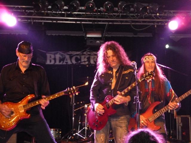 Blackfoot en la antigua Rockstar de Barakaldo el 2 de abril de 2011