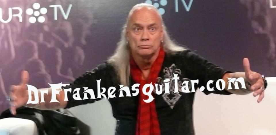 Rickey Medlocke, de Blackfoot y Lynyrd Skynyrd, también es frankenhead!!!