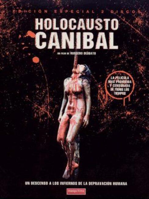 Poster de Holocausto canibal