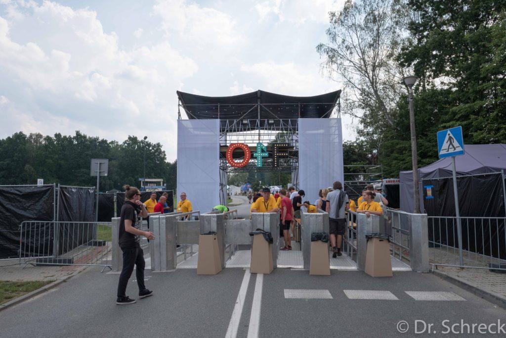 OFF Festival Entrance