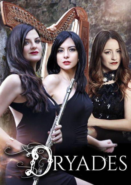 Dryades. De izda a dcha: Zuberoa Aznárez, Delia Agúndez, Maite Itoiz